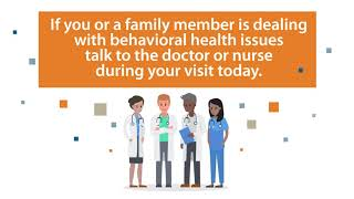 Behavioral Health Waiting Room Video in English